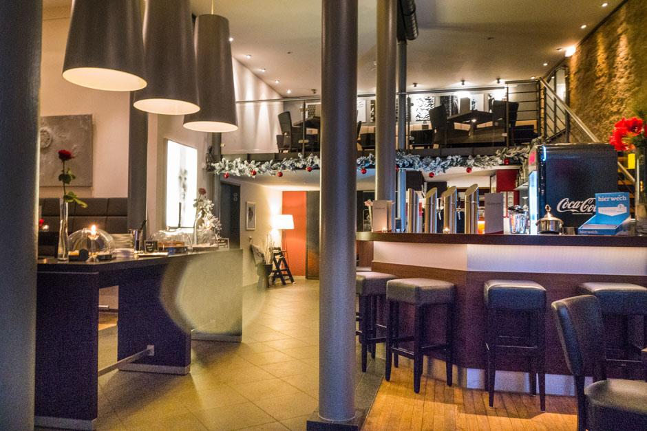 Interior des Café Gothland im Grabbe-Haus