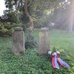 Kranzniederlegung Auf Dem Grab Grabbes