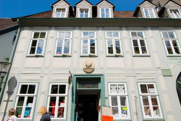 """Das Freiligrath-Haus an der Straße """"Unter der Wehme"""" in Detmold"""