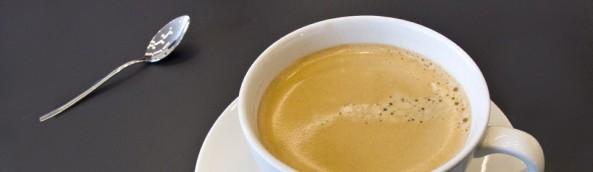 Die gute Tasse Bohnenkaffee